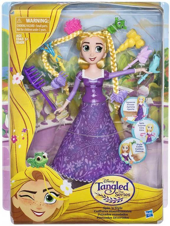 Disney Tangled the Series Draai en Style Rapunzel